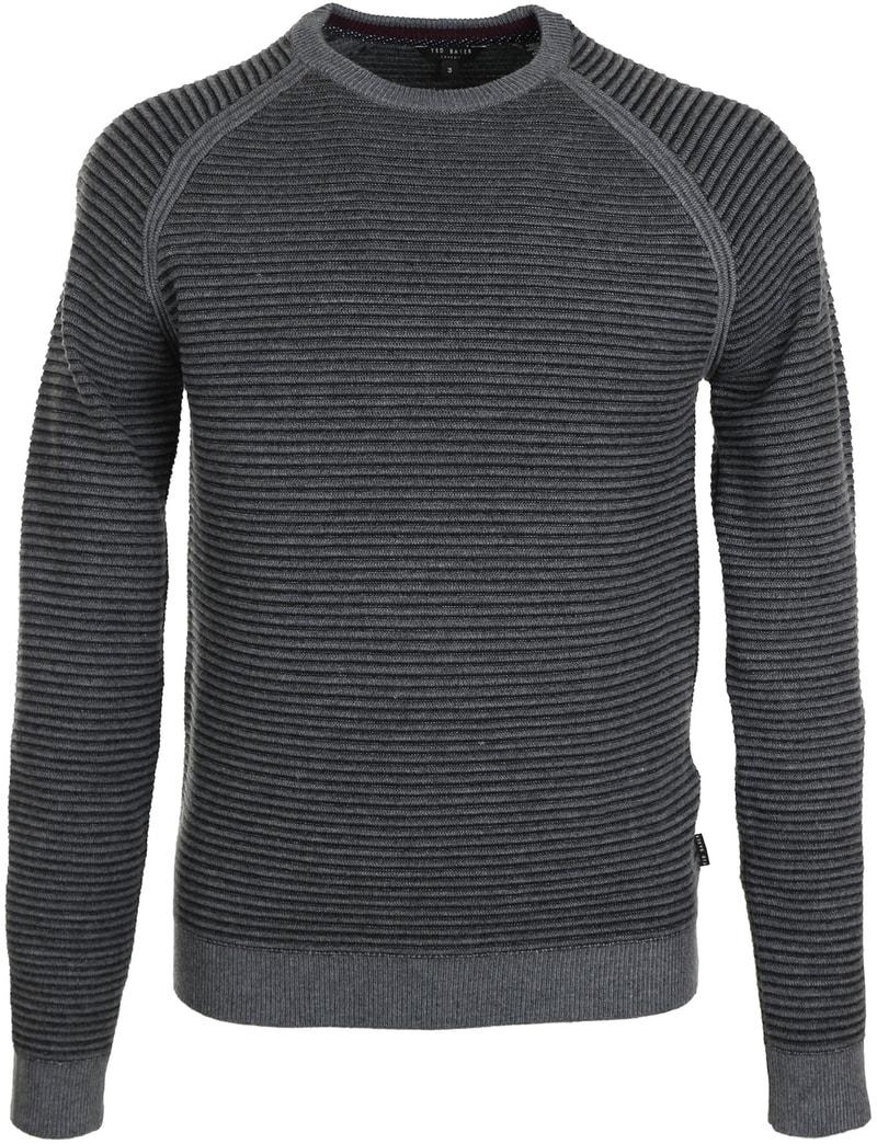 Ted Baker Cashoo Pullover Donkergrijs  online bestellen | Suitable