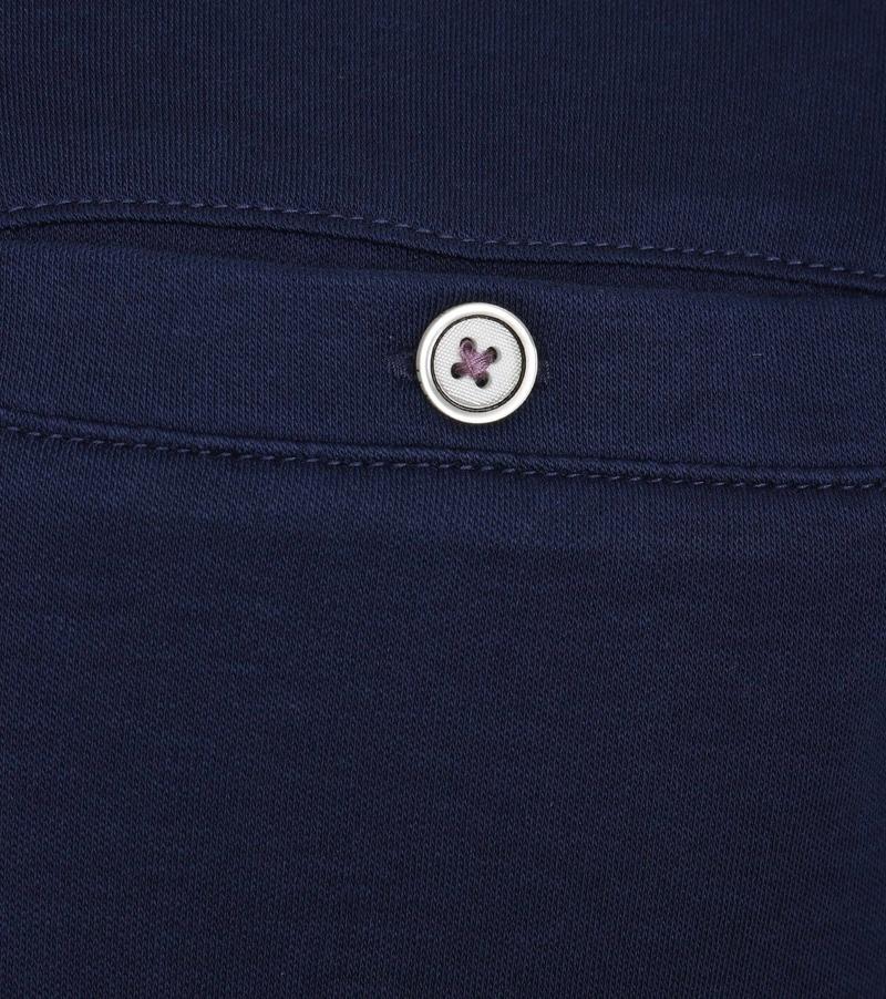 Detail Ted Baker Poloshirt Katoen Navy