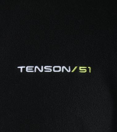 Tenson Fleece Cardigan Miller Black photo 3