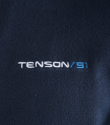 Tenson Fleece Cardigan Miller Navy photo 1