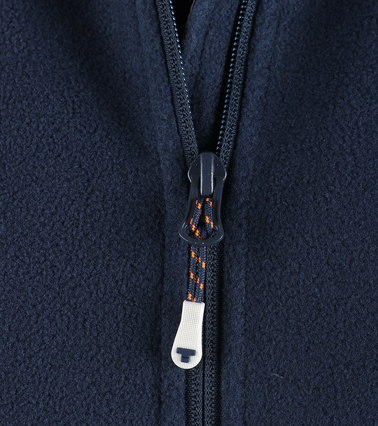 Tenson Fleece Cardigan Miller Navy photo 2