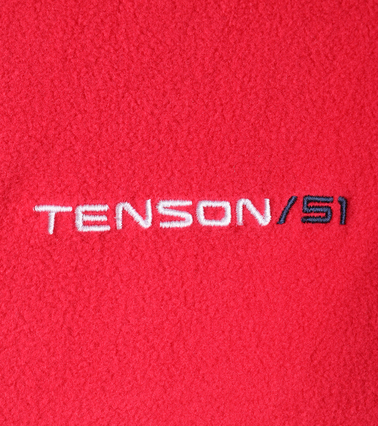 Tenson Fleece Cardigan Miller Red photo 3