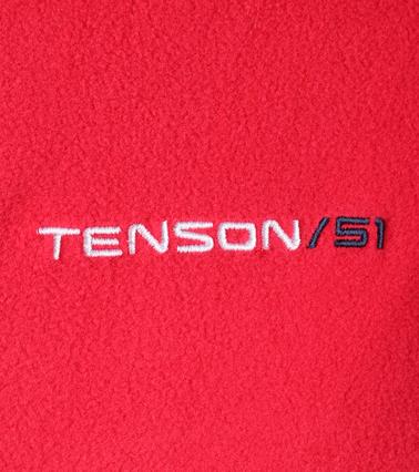 Tenson Fleece Jacke Miller Rot Foto 3
