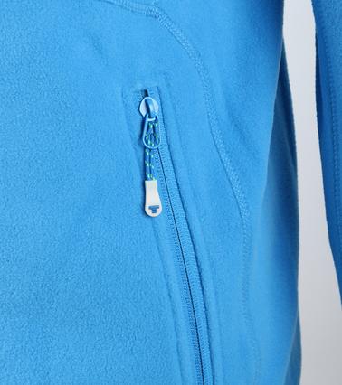 Tenson Fleece Vest Miller Blauw foto 1