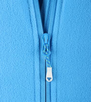 Tenson Fleece Vest Miller Blauw foto 2