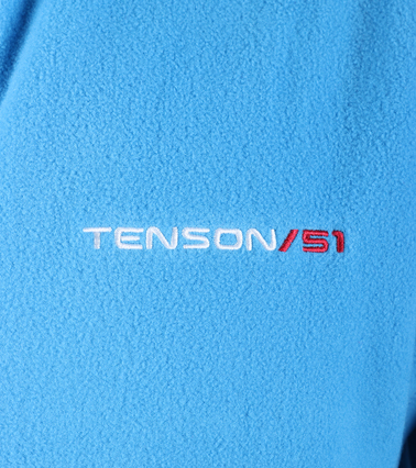 Tenson Fleece Vest Miller Blauw foto 3