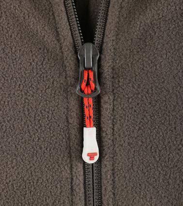 Tenson Fleece Vest Miller Bruin foto 2
