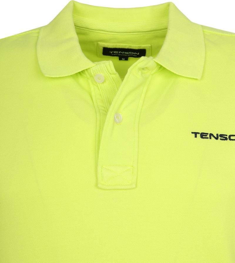 Tenson Polo Einar Neon Gelb Foto 1