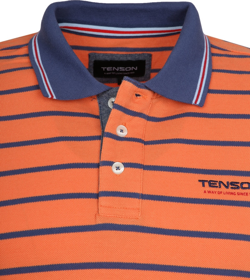 Tenson Polo Gian Oranje foto 1