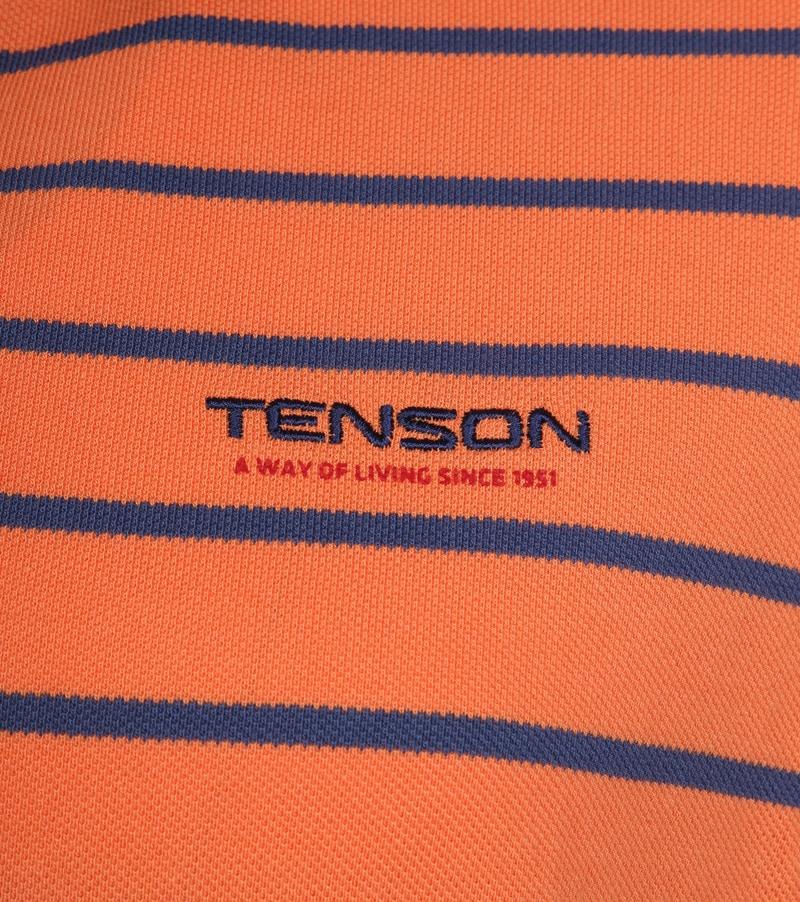 Tenson Polo Gian Oranje foto 2
