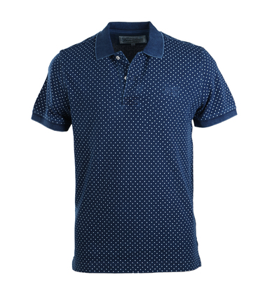 Tenson Polo Navy Print  online bestellen | Suitable