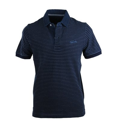 Tenson Polo Navy Streep  online bestellen | Suitable