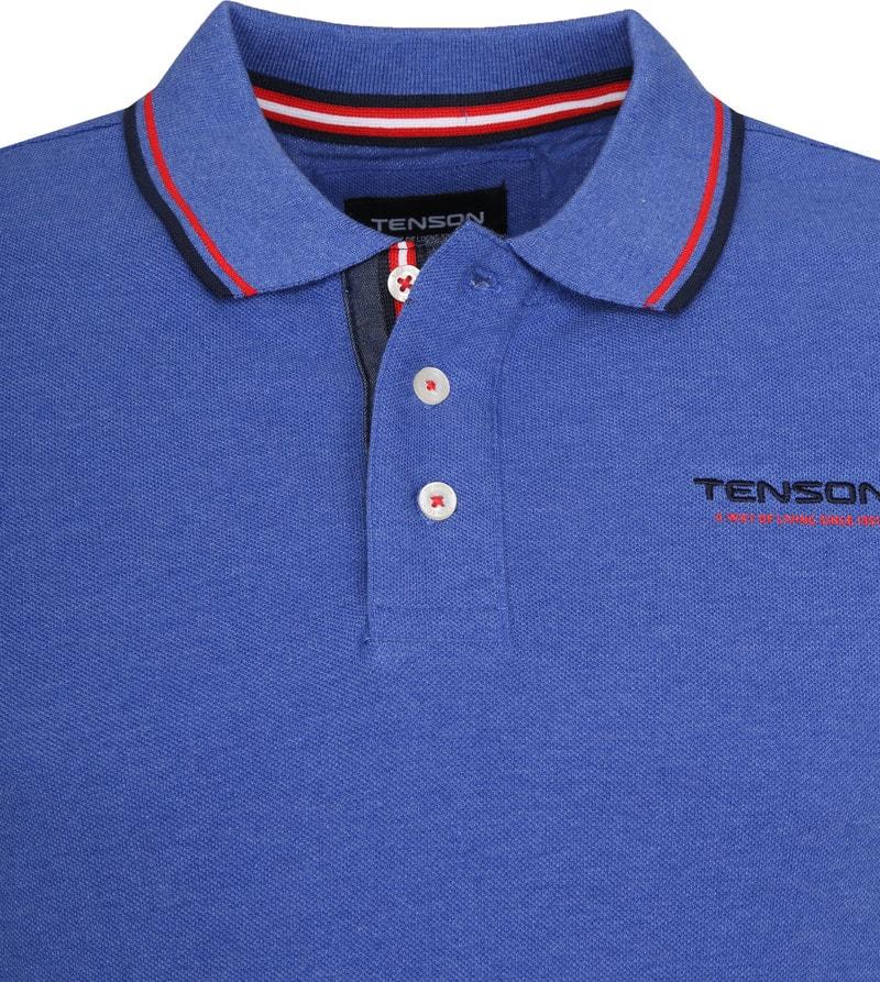 Tenson Poloshirt Barney Indigo Foto 1