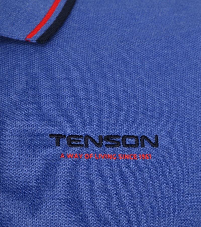 Tenson Poloshirt Barney Indigo Foto 2