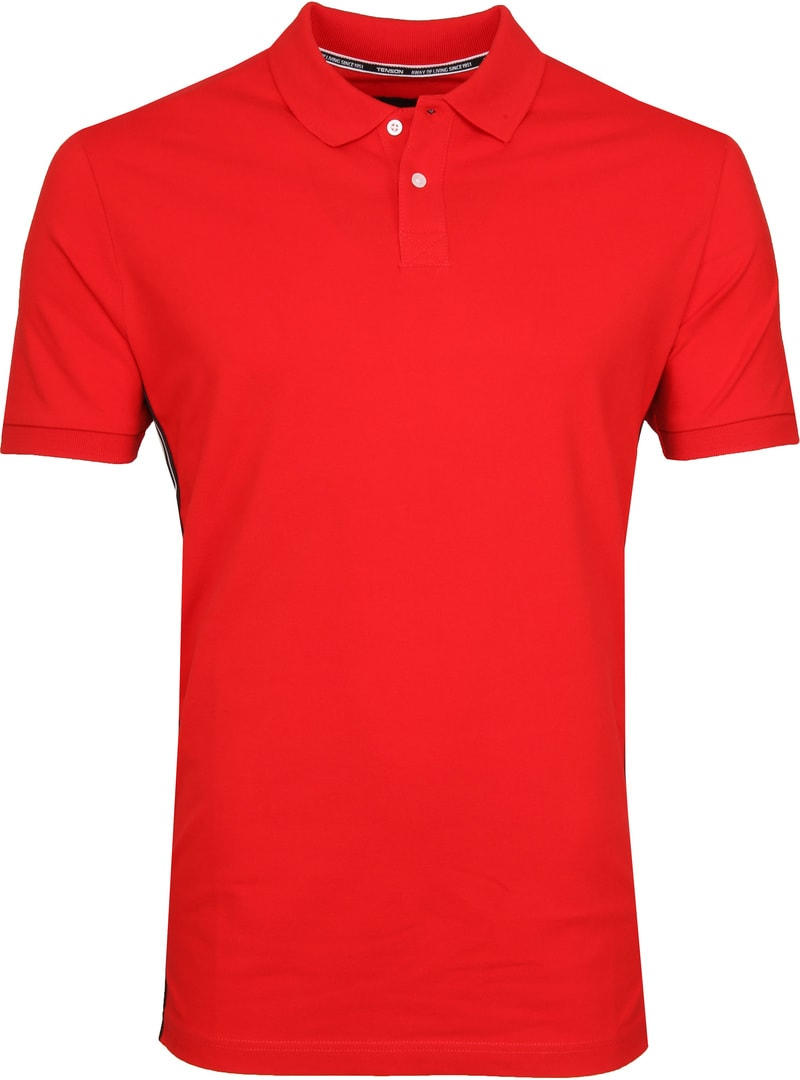 Tenson Poloshirt Zenith Rot Foto 0