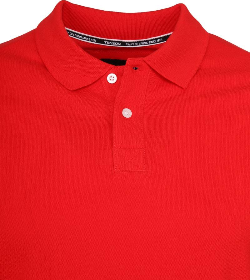 Tenson Poloshirt Zenith Rot Foto 1