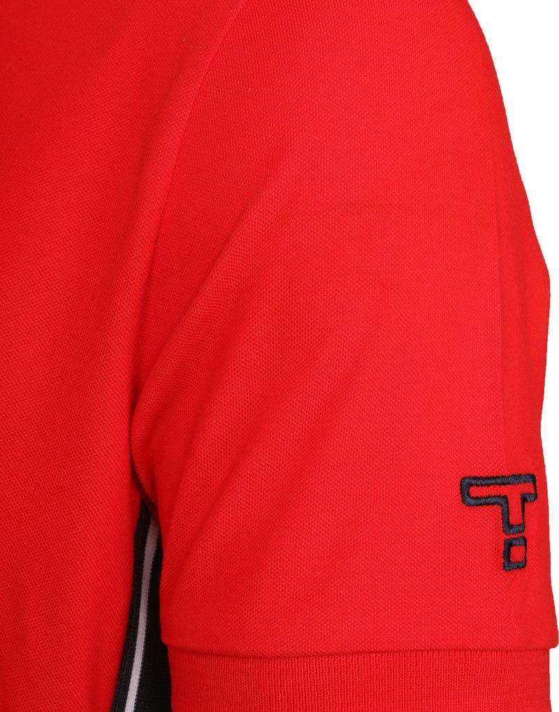 Tenson Poloshirt Zenith Rot Foto 2