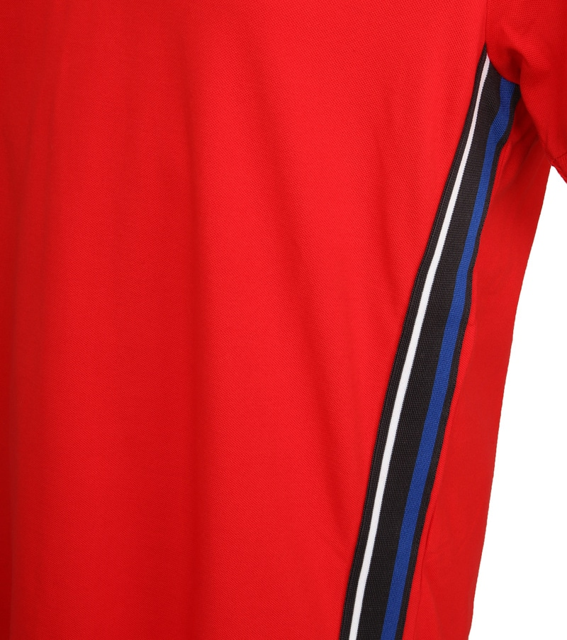 Tenson Poloshirt Zenith Rot Foto 3