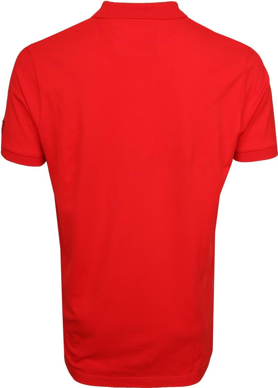 Tenson Poloshirt Zenith Rot Foto 4