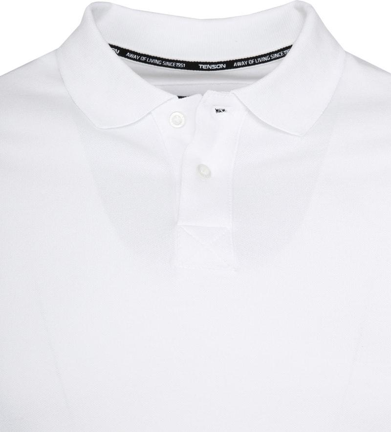 Tenson Poloshirt Zenith White photo 2