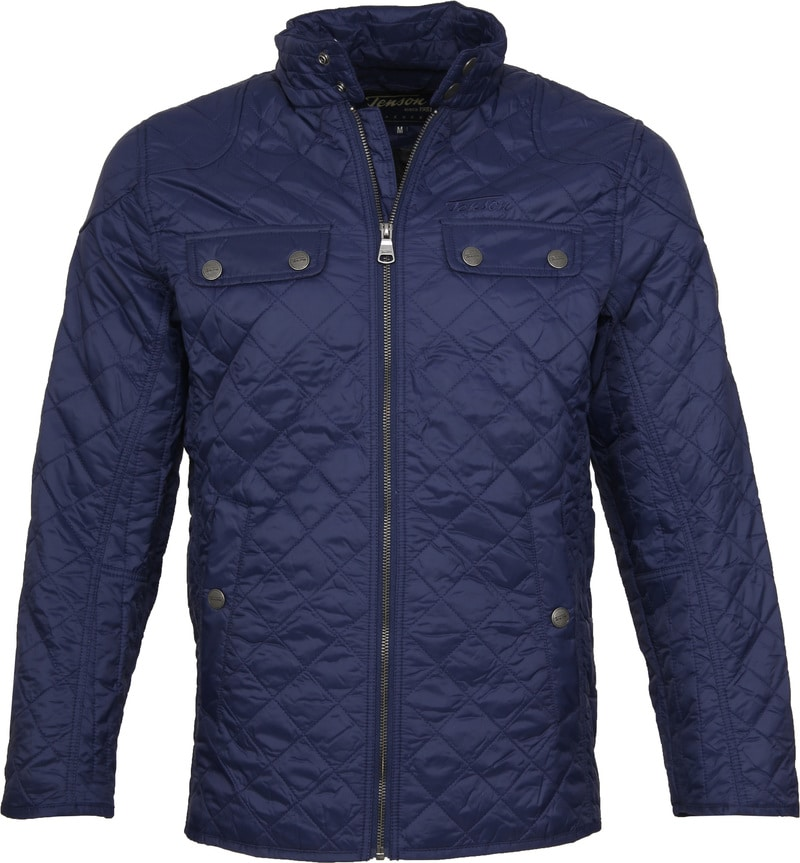 Tenson Samson Jacket Quilted Navy photo 0