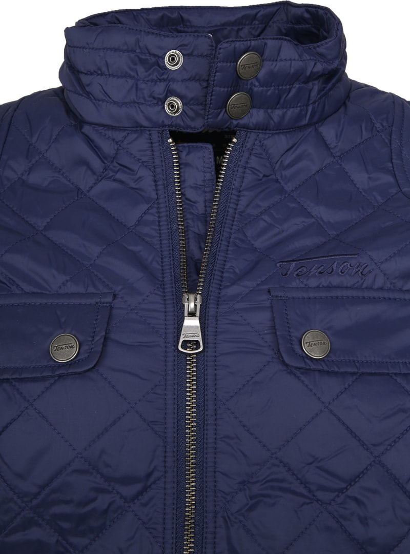 Tenson Samson Jacket Quilted Navy photo 1