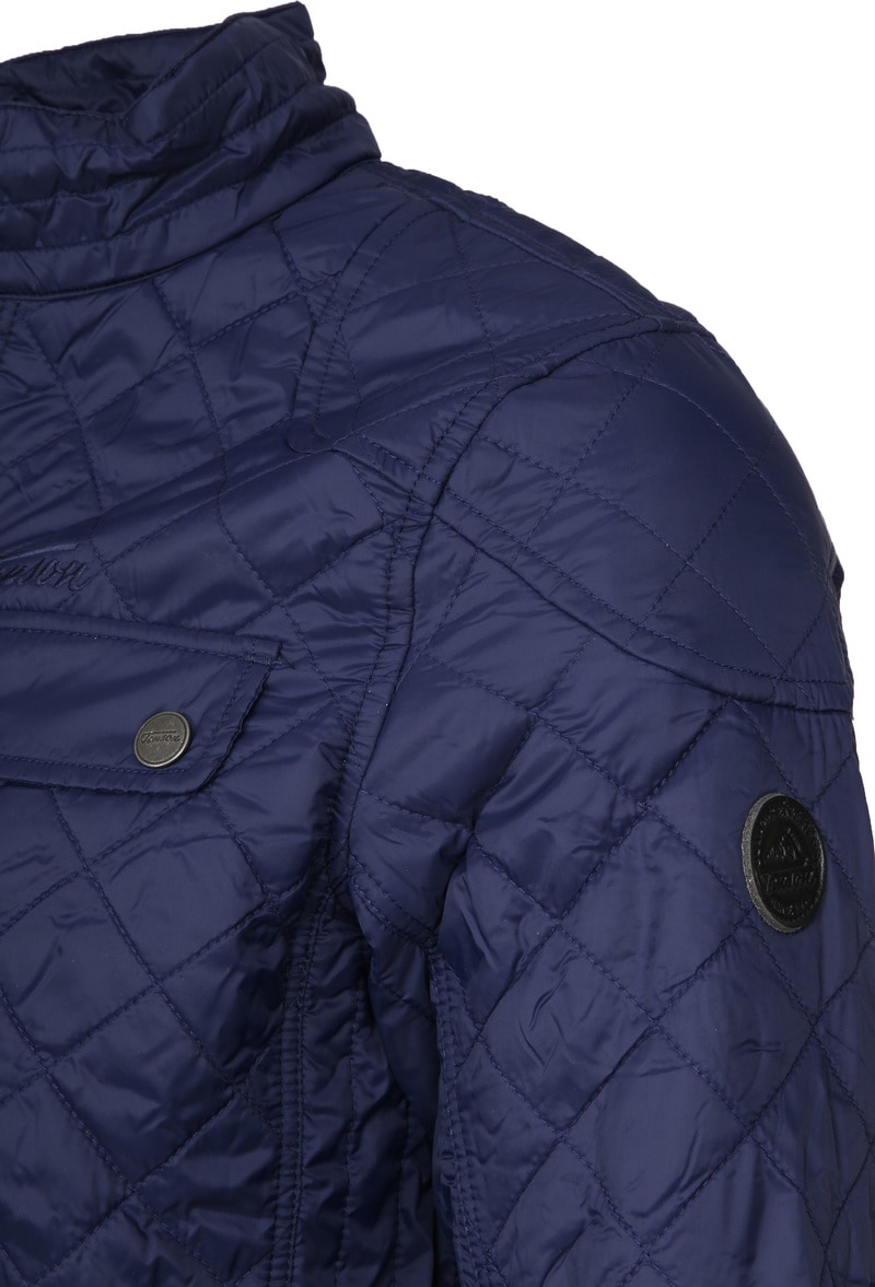 Tenson Samson Jacket Quilted Navy photo 2