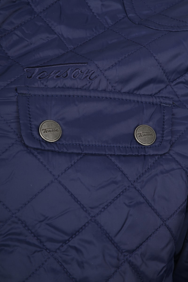 Tenson Samson Jacket Quilted Navy photo 3