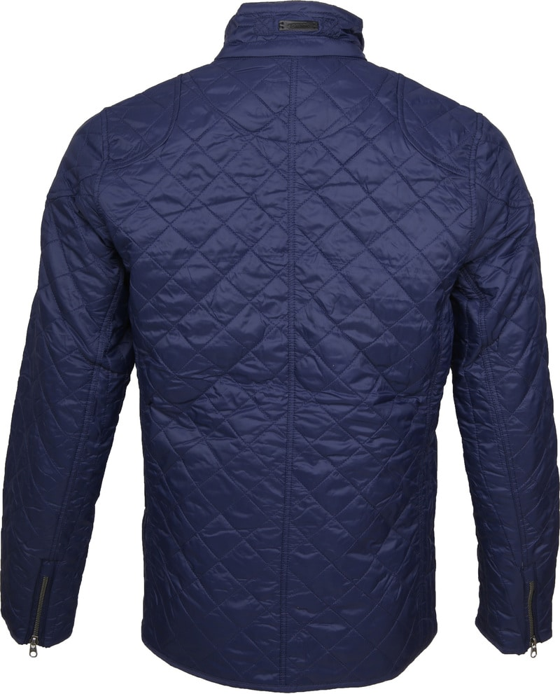 Tenson Samson Jacket Quilted Navy photo 5