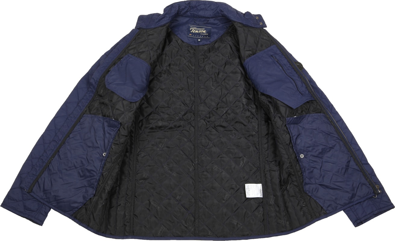 Tenson Samson Jacket Quilted Navy photo 6
