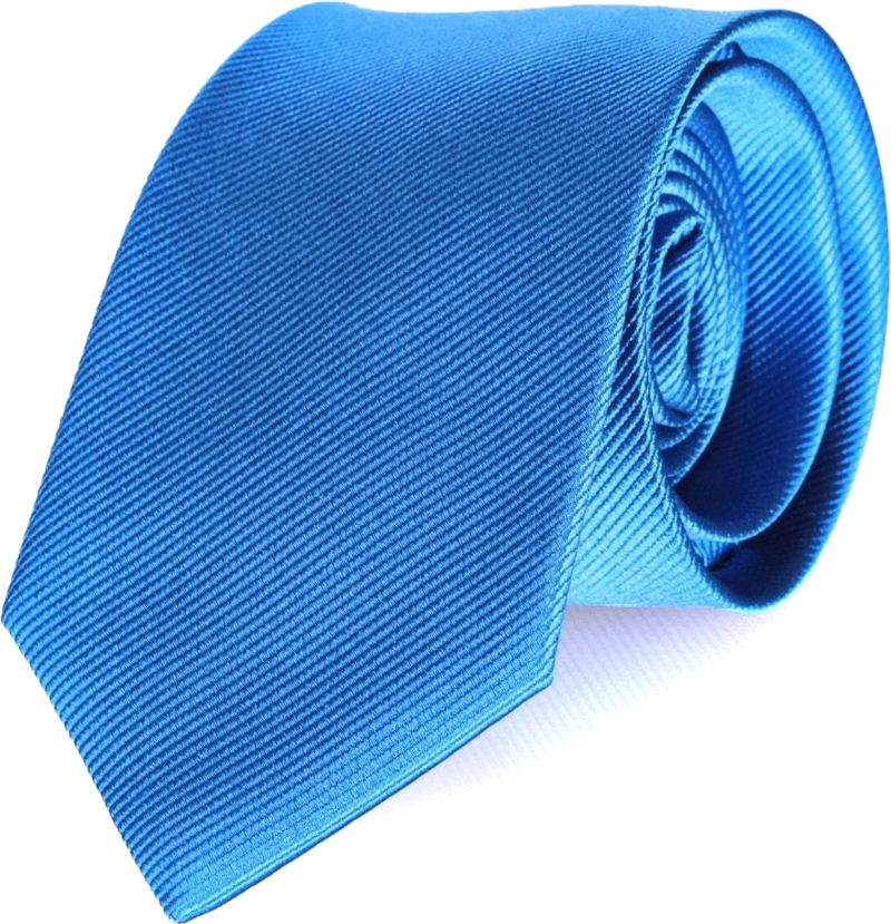 Tie Silk Light Kobalt F19