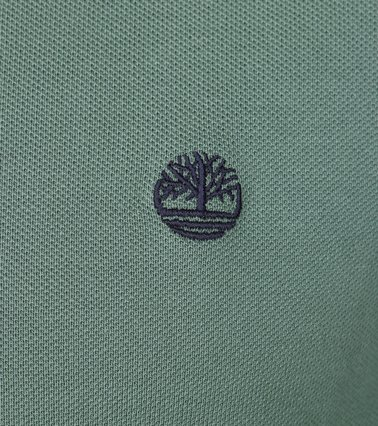 Detail Timberland Polo Uni Groen