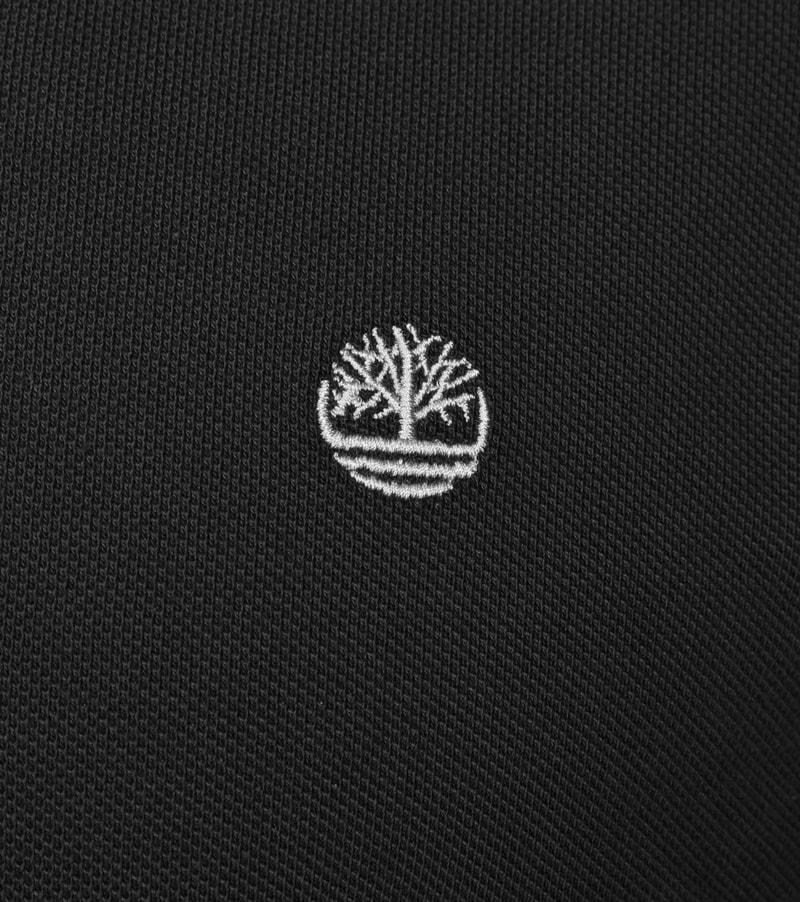 Detail Timberland Polo Uni Zwart