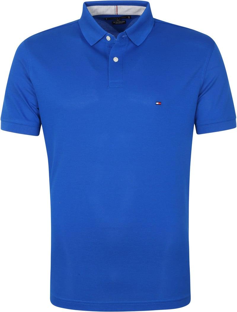Tommy Hilfiger 1985 Poloshirt Blauw - Blauw maat 3XL