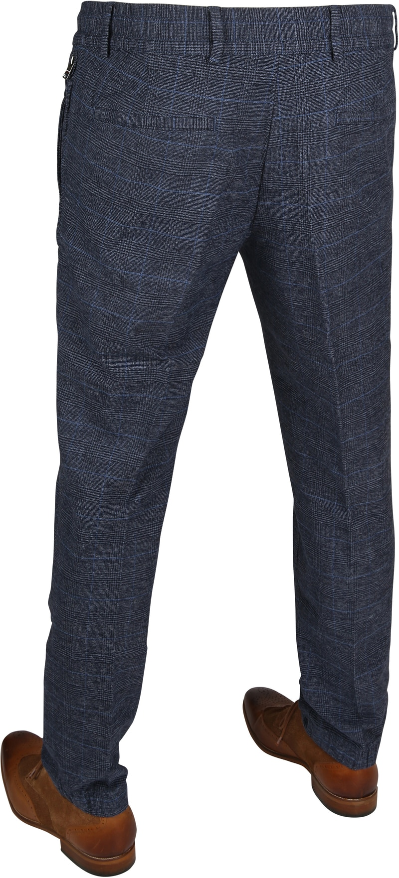 Tommy Hilfiger Active Pants Ruit Navy foto 2