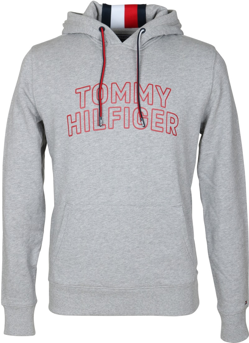Tommy Hilfiger Hoodie Grau  online kaufen | Suitable
