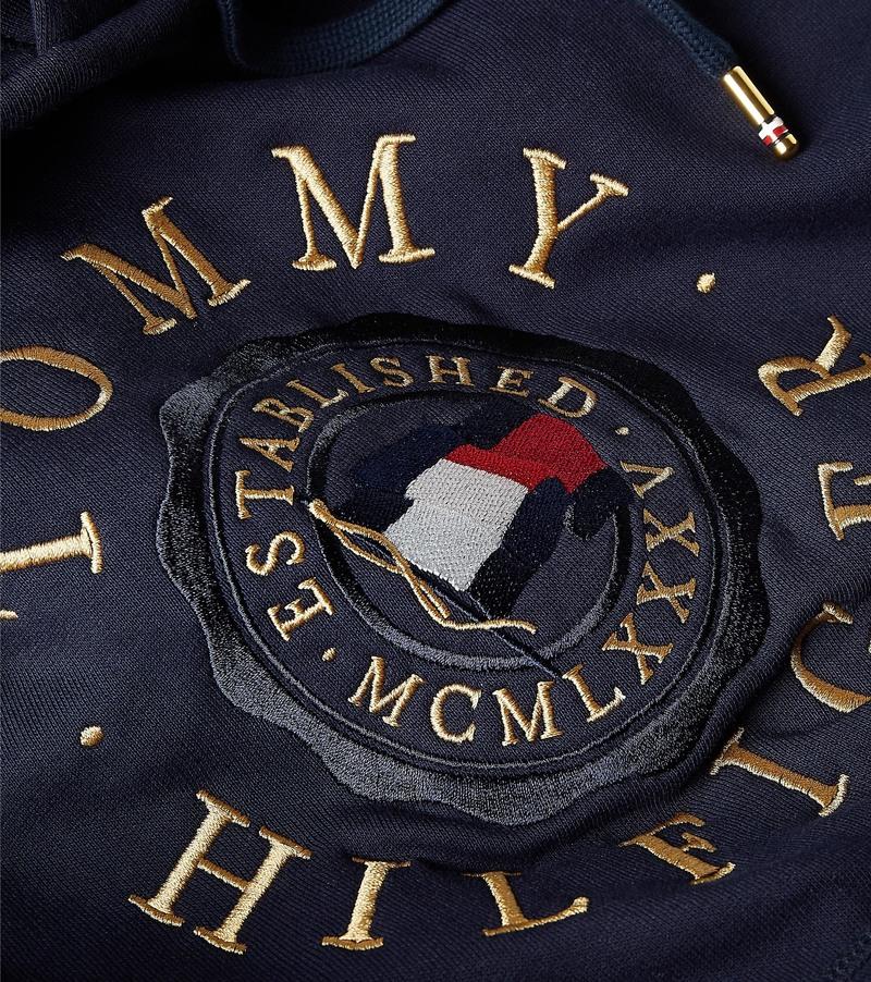 Tommy Hilfiger Icon Hoodie Donkerblauw