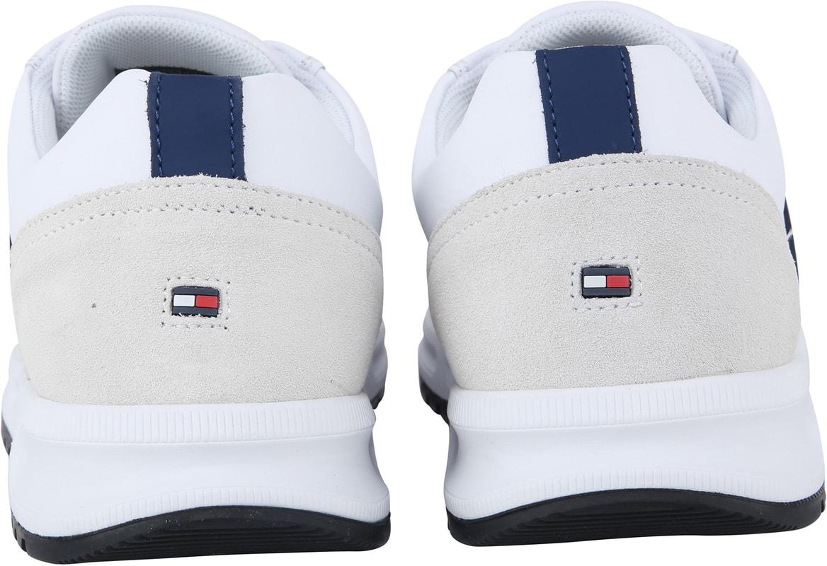 Tommy Hilfiger Modern Corp Sneaker Wit foto 2