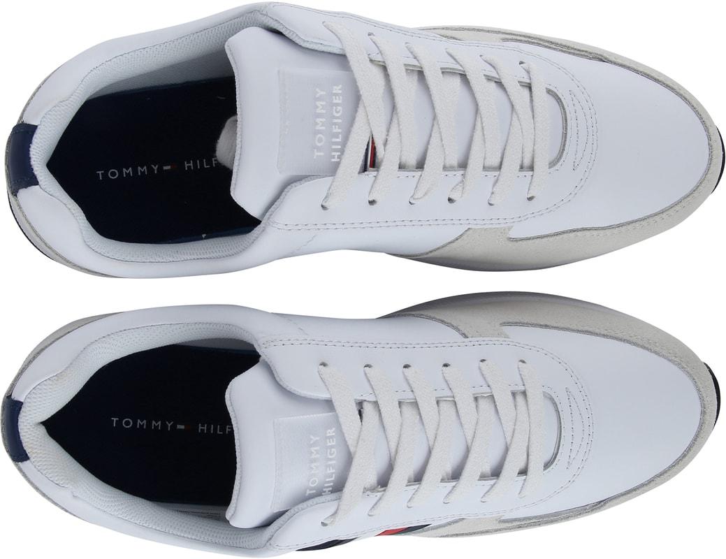 Tommy Hilfiger Modern Corp Sneaker Wit foto 4