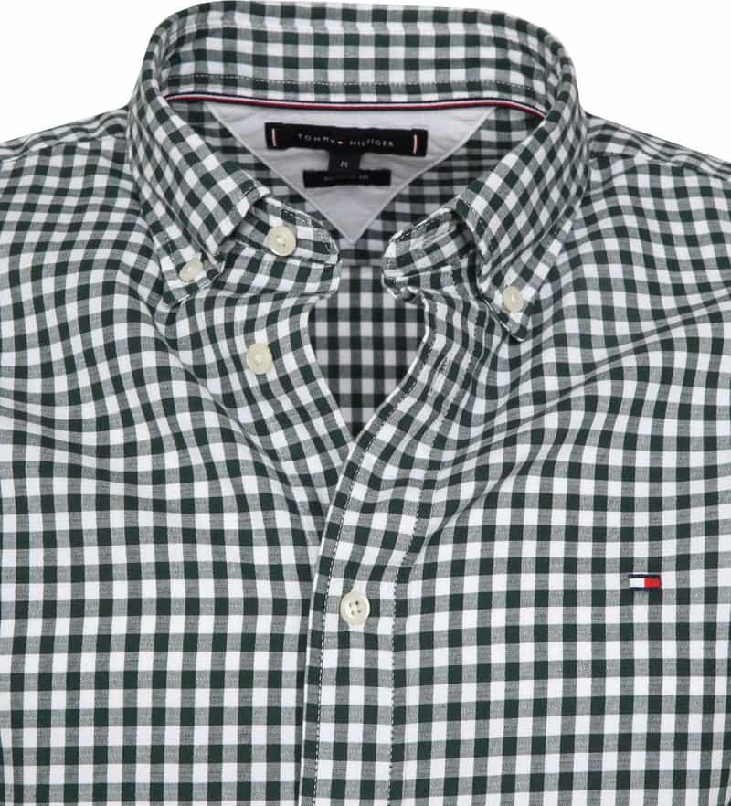 Tommy Hilfiger Overhemd Gingham Groen foto 1