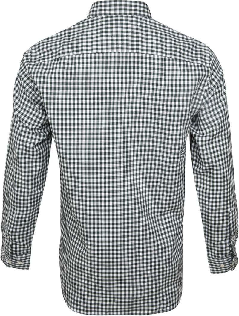 Tommy Hilfiger Overhemd Gingham Groen foto 3
