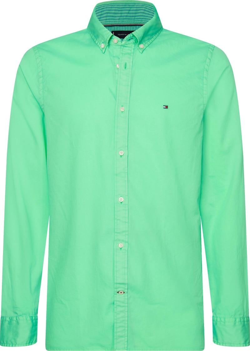 Tommy Hilfiger Overhemd Mystic Mint foto 0