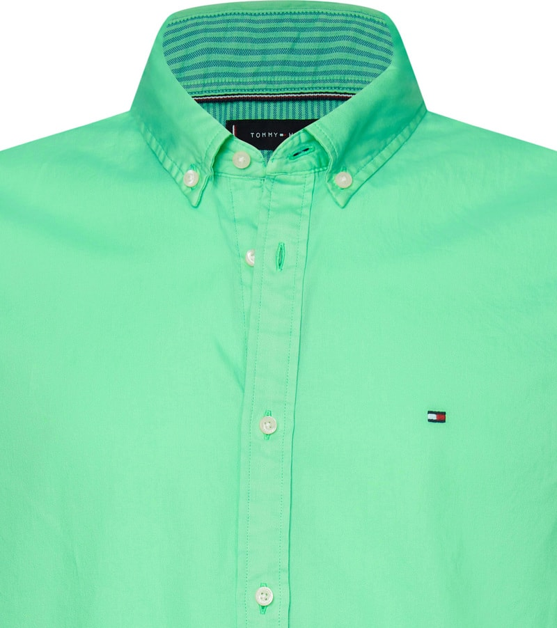 Tommy Hilfiger Overhemd Mystic Mint foto 1