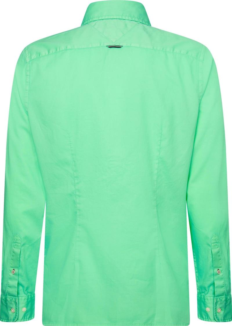 Tommy Hilfiger Overhemd Mystic Mint foto 3
