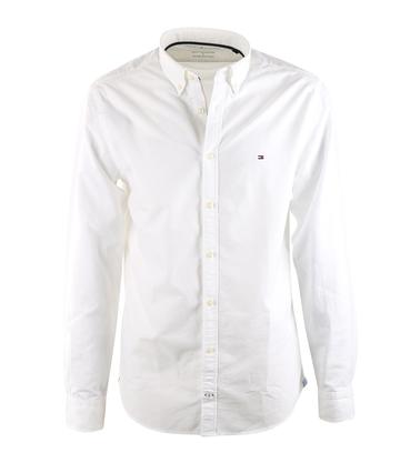 Tommy Hilfiger Overhemd Wit Oxford  online bestellen   Suitable