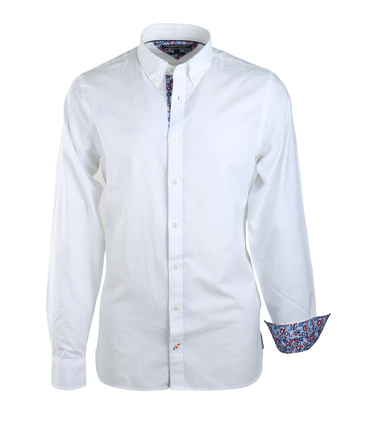 Tommy Hilfiger Oxford Shirt Wit  online bestellen | Suitable