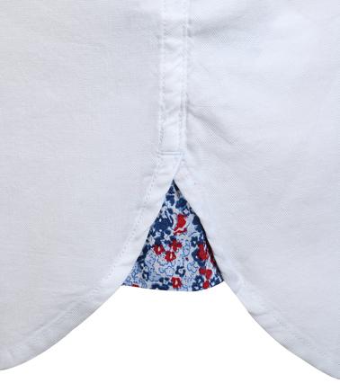 Detail Tommy Hilfiger Oxford Shirt Wit