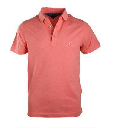 Tommy Hilfiger Polo Coral Red  online bestellen | Suitable