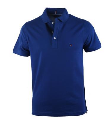 Tommy Hilfiger Polo Royal Blue  online bestellen | Suitable