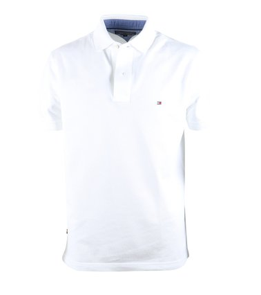 Tommy Hilfiger Polo Wit  online bestellen | Suitable